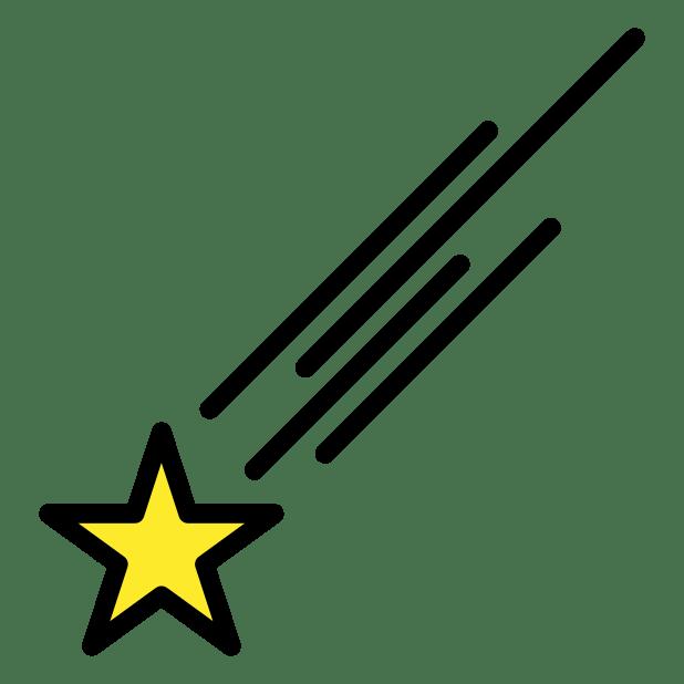 sichtbarer stern